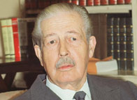 The sad death of Harold Macmillan today,  the master of consensus politics, critical of Thatcher's policies