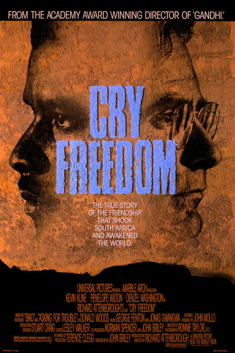 The very moving film that chronicled the Afrikaner repression of the blacks
