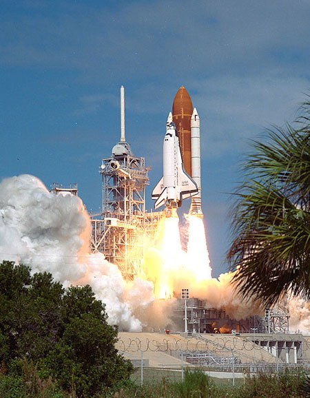 Discovery Space Shuttle launch September 29th 1988