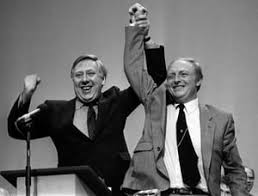 Kinnock and Hattersley are on course for re-election in the Labour Party leadership election.