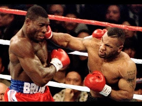 Frank Bruno lost out to Mike Tyson but gave him a run for his money