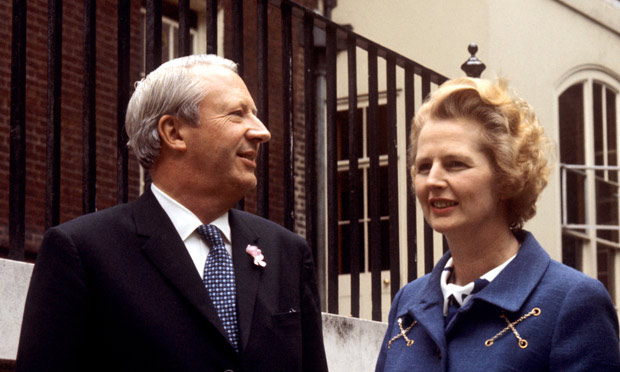 Thatcher's decline was seeded by the way in which she had undermined Former PM Ted Heath