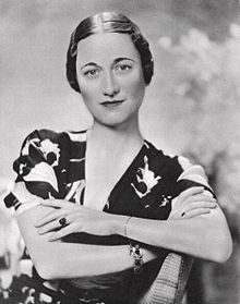 Formerly Wallis Simpson, then The Duchess of Windsor, and now buried today