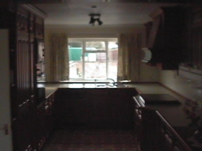 Hayling View Smallbone Kitchen once fitted