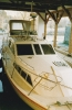 Paxton Princess in the harnser boathouse - the building's prime objective late 1992!