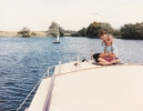 Boat trip on Gt Ouse, 1986