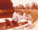 Boating on the The Great Ouse 1980