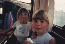 Norfolk Broads holiday on The Lady & the Little Lady, July/Aug 1987