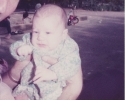 Baby Della held up August 1984