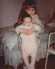 Debbie lifting Della - late 1984