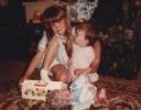 Della looking at Della June 1985