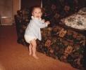 Della in nappy June 1985