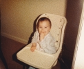 Della in High Chair