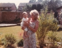 Grandma Norma with Della June 1985