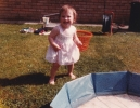 Della paddling June 1985