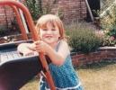 Della cuddling slide 1985