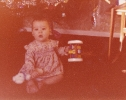 Debbie as a baby 1979/1980