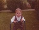 Debbie walking 1980