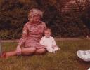 Grandma Norma with Debbie 1980