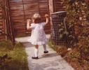 Debbie runnng away 1980