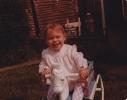Debbie as a baby 1979/1980