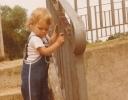 Debbie on the lock steps 1980