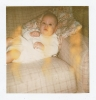 Baby Debbie on the settee Summer 1979