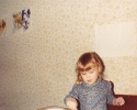 Debbie concentrating early 1982