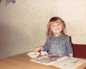 Debbie water painting 1982