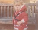 Debbie in a harness 1981