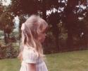Debbie's lovely hair - 1982