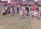 Debbie at Little Paxton school sports day - 1982