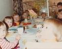 Debbie's birthday party tea, May 1982