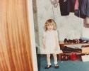 Debbie in the Gordon Road hall 1982