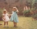 Debbie finds a friend at Grandma Jackson's 1982