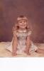 Debbie sitting in the studio1981