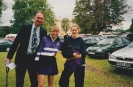 Debbie and friend with me at Kimbolton School Sports Day
