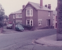 Freda and Alf's house and reliant car, Holsworthy August 1984