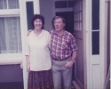Freda with husband Alf