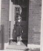 Freda in Girl Guide uniform at Napier Road