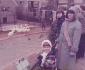 Debbie and Diana with Toucans at London Zoo November 1984