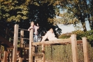 Wicksteed Park with Marilyn, 1993