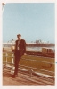 Me in Brighton for my Graduation April 1970