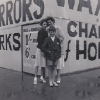 Me with Freda and Mum at House of Horrors mid 1950's