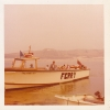 me on the ferry from Rock to Padstow ferry Cornwall June 1975