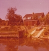 39 Gordon Road and river frontage in long hot summer of 1976