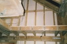 Upper Harnser floor boarded and stairwell ready for staircase to be fitted late 1992