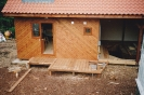 Harnser board verandah constructed late 1992