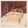 Building Dabchick, my first boat in Northbridge Street garage c1972