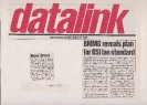 11th  March 1985 My BMMG 6-point plan - Computer Talk and Datalink